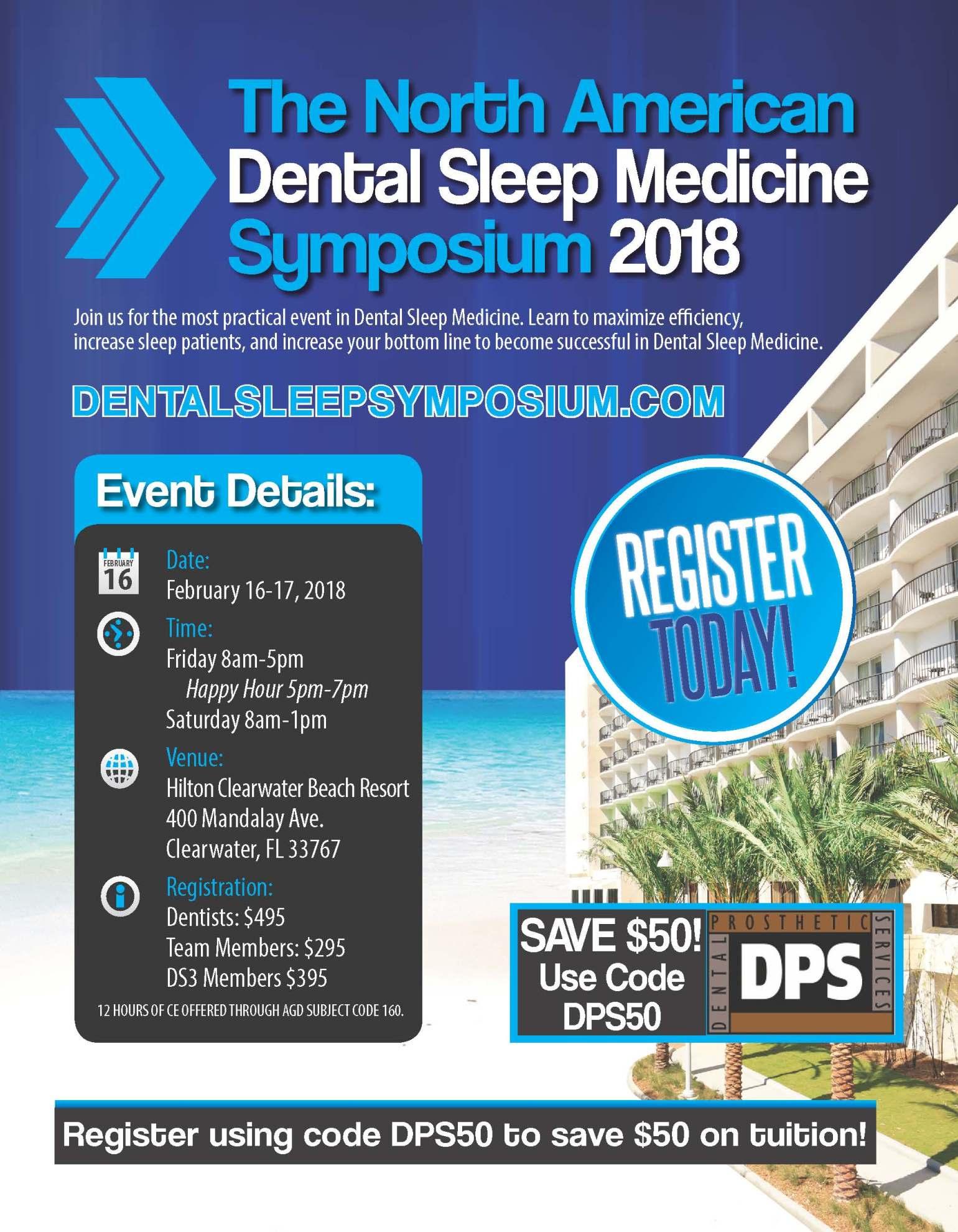 NADSM 2018 Flyer - DPS50